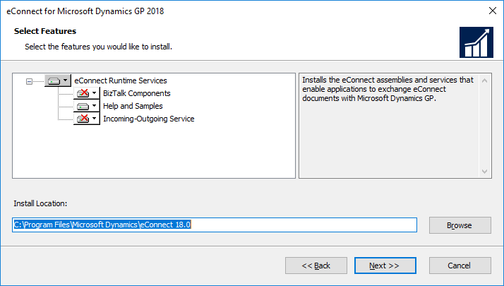 eConnect for Microsoft Dynamics GP 2018: Select Features
