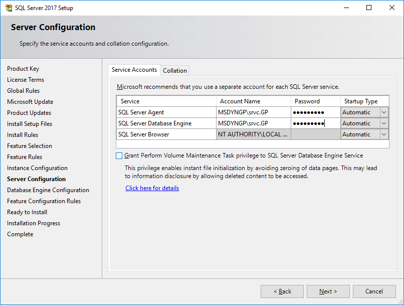 How to Install Microsoft SQL Server 2017: Install the Database