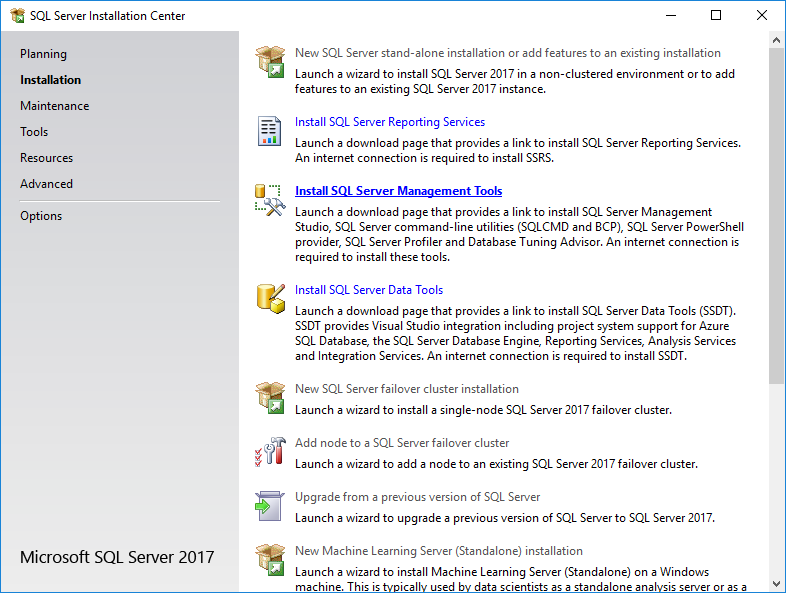 How To Install Microsoft SQL Server 2017: Install SQL Server