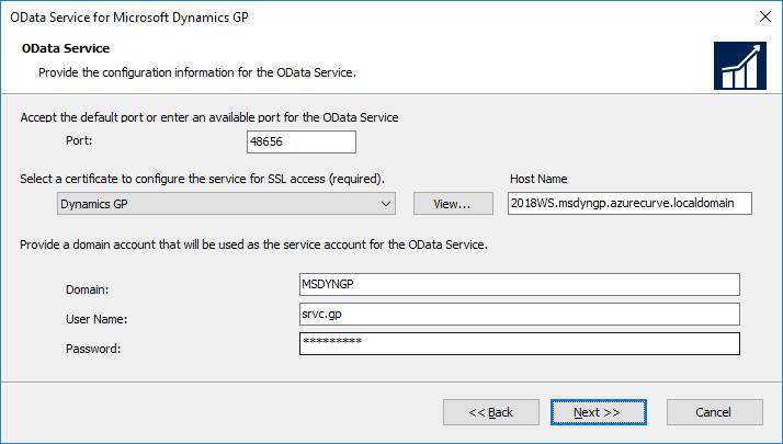 OData Service for Microsoft Dynamics GP: OData Service