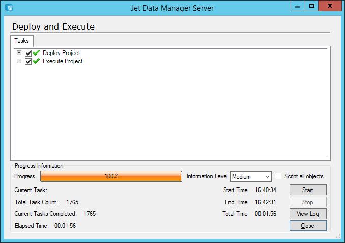 Jet Data Manager Server: