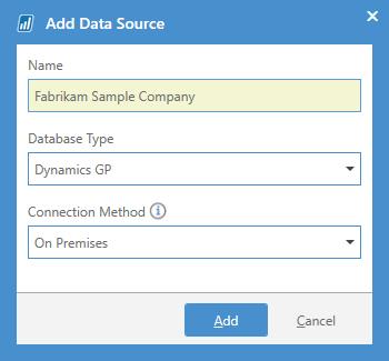 Add Data Source
