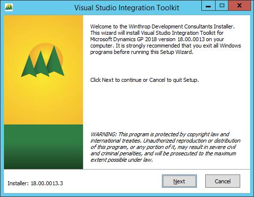 Visual Studio Integration Tookit