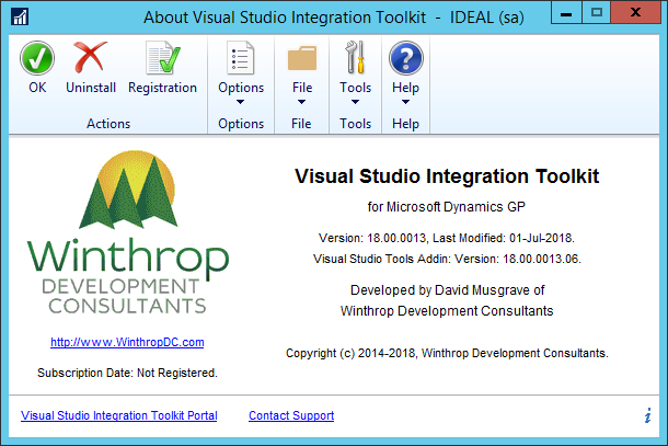 About Visual Studio Integrating Toolkit