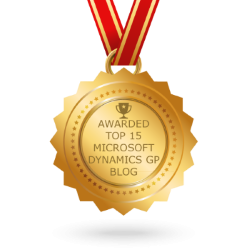 Feedspot Top 15 Dynamics GP Blogs medal