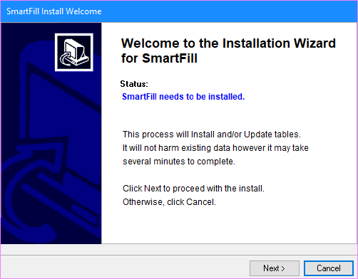 SmartList Install Welcome