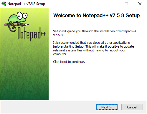Welcome to Notepad++