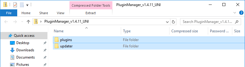 Plugin Manager download