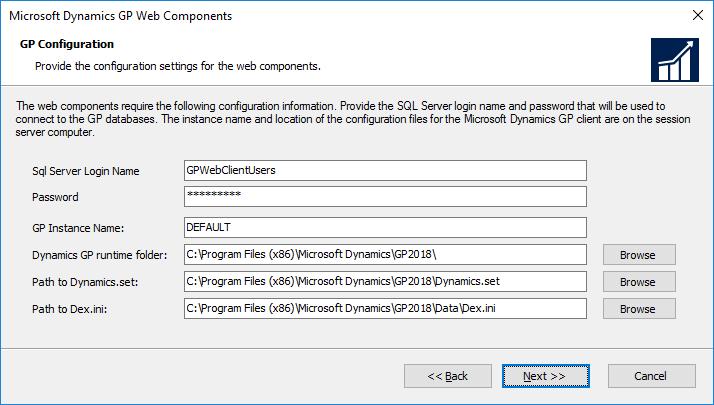 GP Configuration