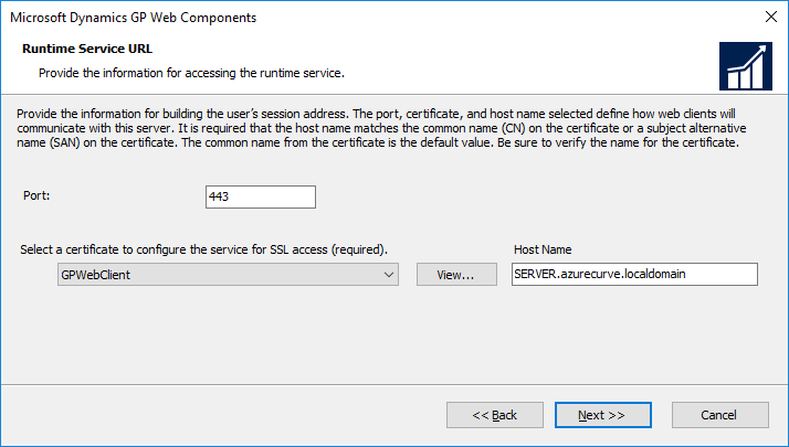Runtime Service URL