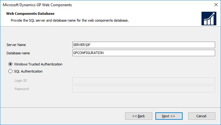 Web Components Database
