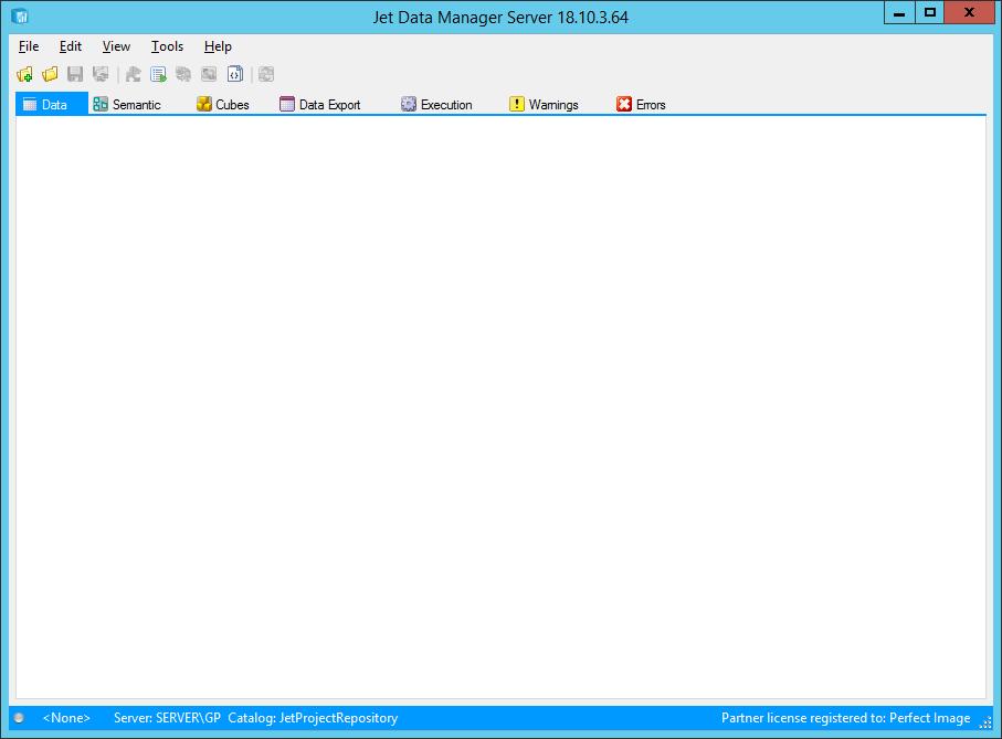Jet Data Manager Server