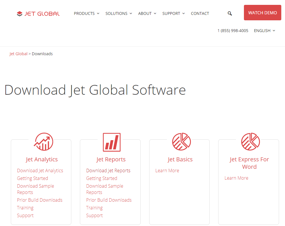 Download Jet Global Software