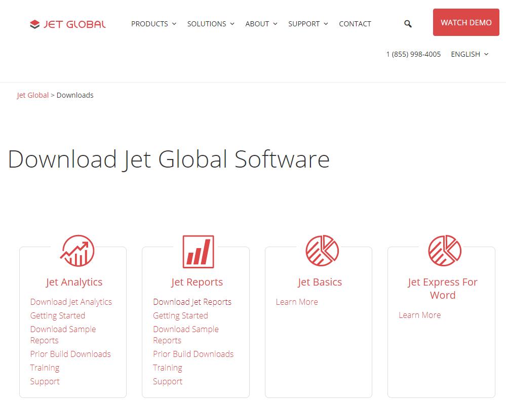Download Jet Global Software