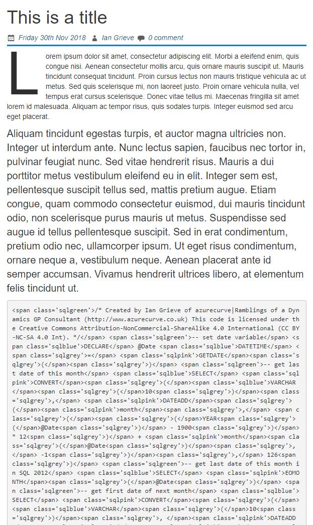 Corrupt Gutenberg code block