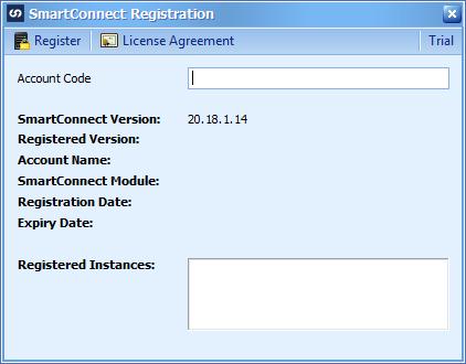 SmartConnect Registration