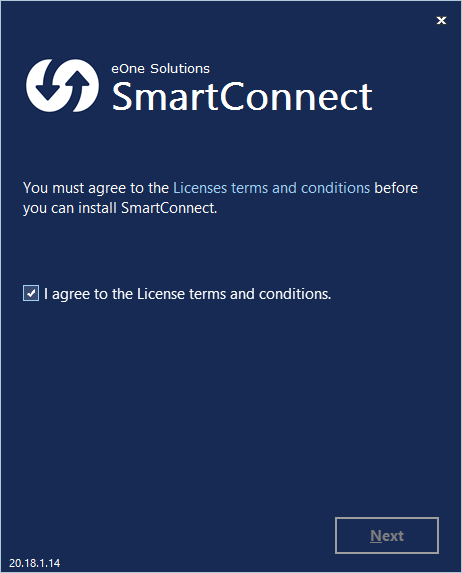 SmartConnect License Agreement