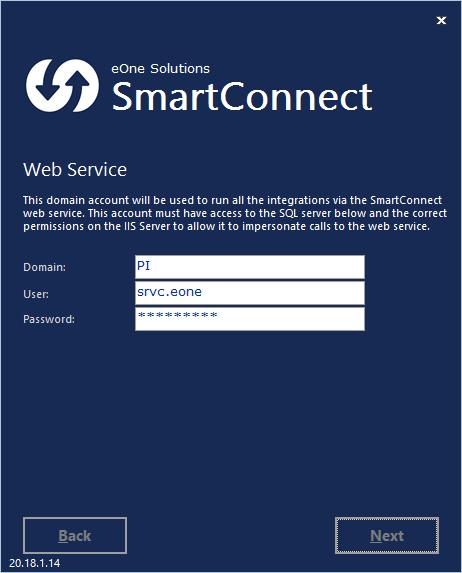 SmartConnect - Web Service