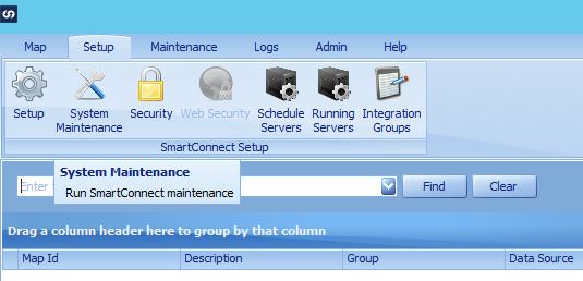 SmartConnect Setup tab
