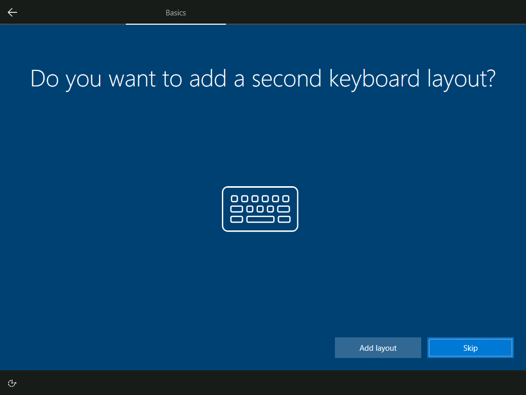 Basics: Do you want to add a second keyboard layout?