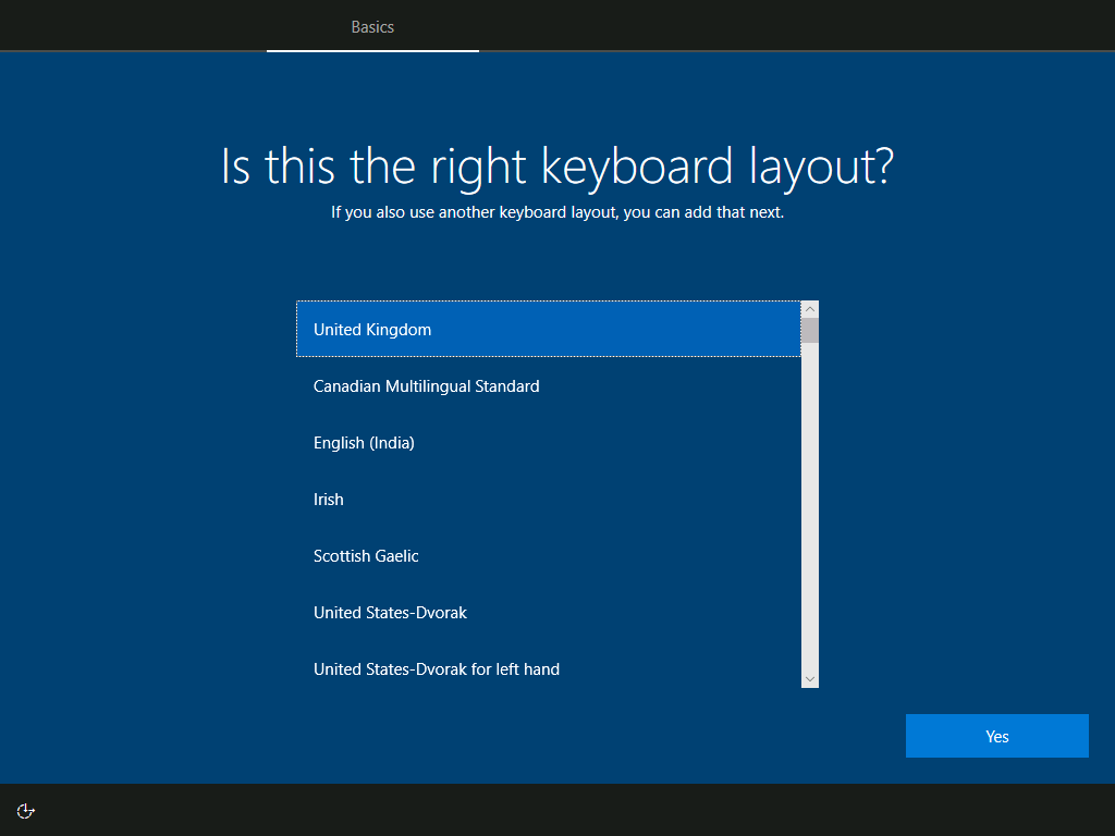 Basics: Is this the right keyboard layout?