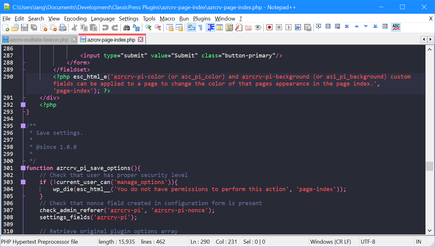 Notepad++ in new theme