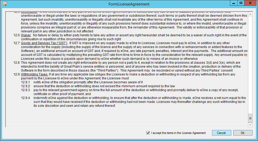 FormLicenseAgreement
