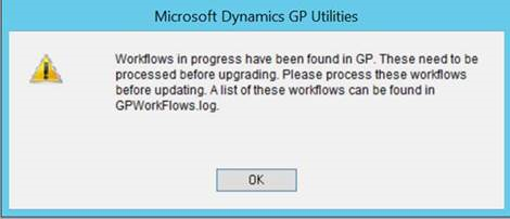Upgrade error
