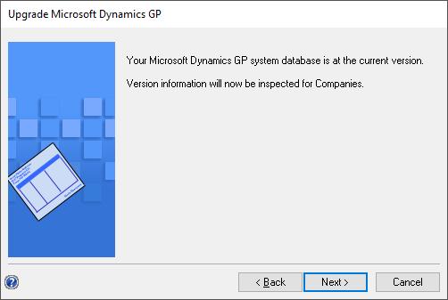 Update Microsoft Dynamics GP
