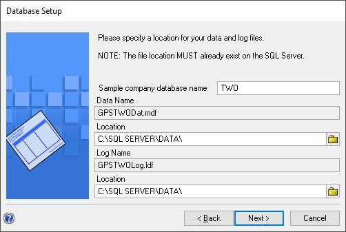 Database Setup