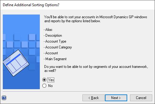 Define Additional Sort Options?