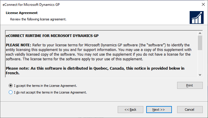 eConnect for Microsoft Dynamics GP - License Agreement