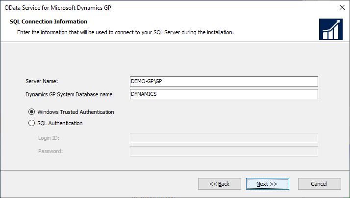 OData Service for Microsoft Dynamics GP: