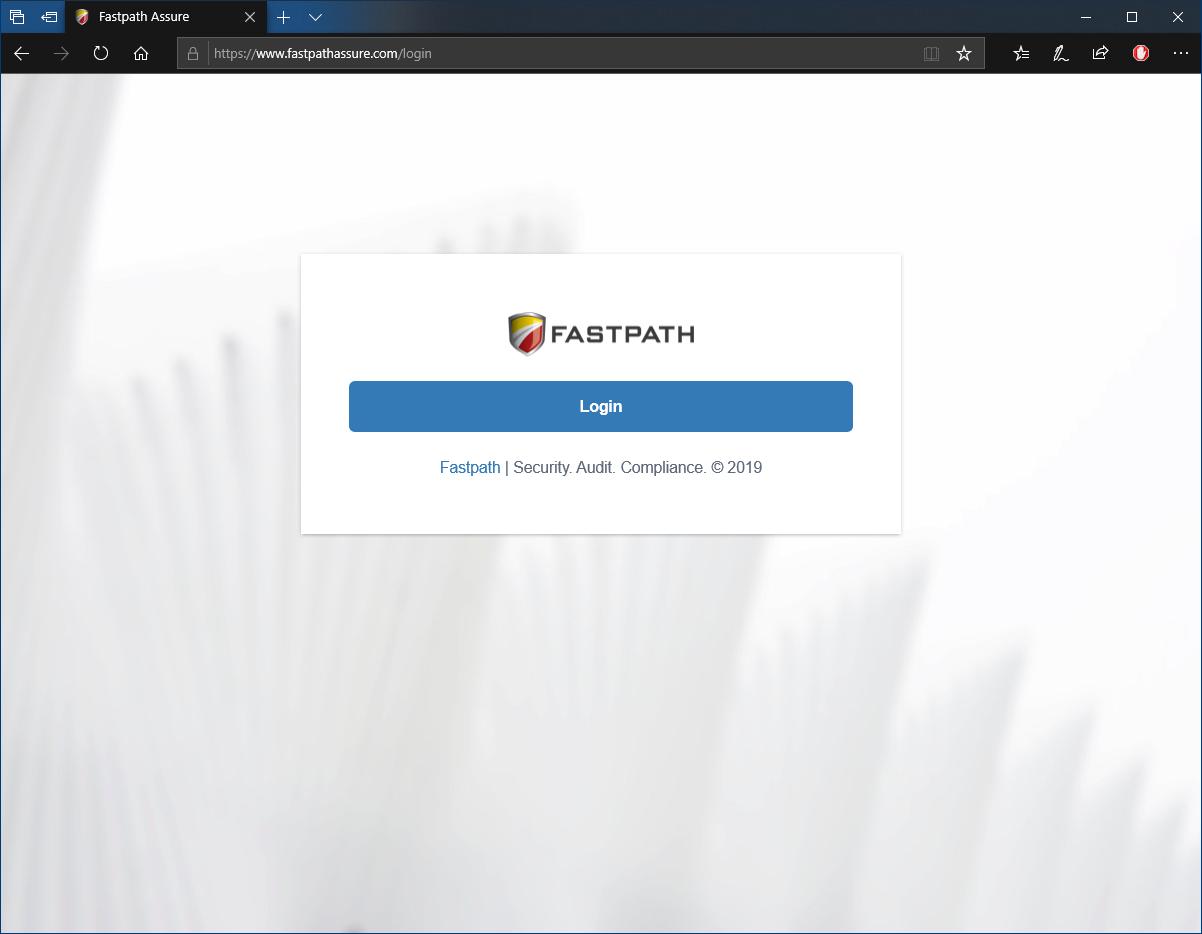 Fastpath Assure login