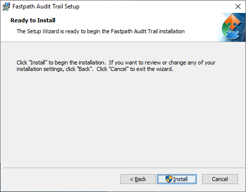 Fastpath Audit Trail Setup: Ready to Install