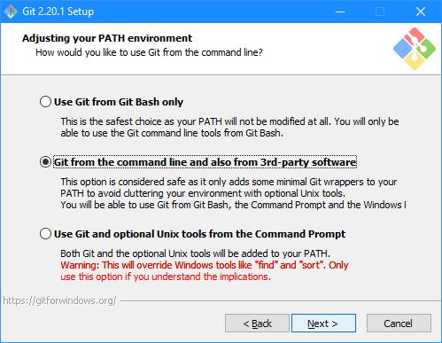 Git Setup: