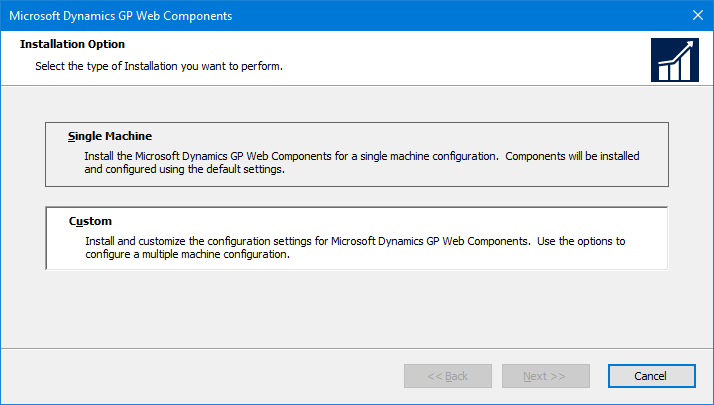 Microsoft Dynamics GP Web Components: Installation Options