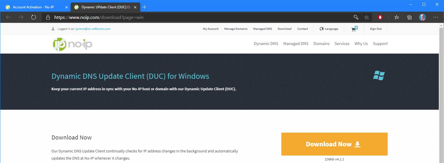 Download client
